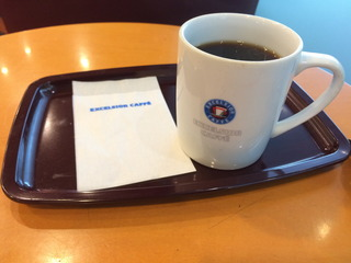 コーヒー@エクセルシオールカフェ