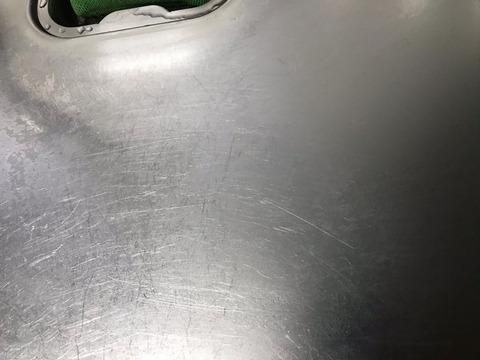 「うろこが取れる」でキッチンシンクの水垢掃除