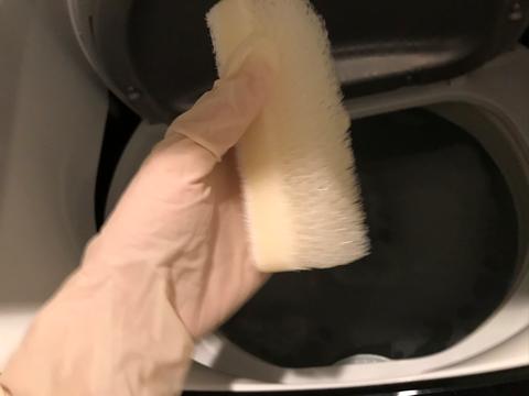 木村石鹸で洗濯槽の掃除と排水管洗浄剤のその後
