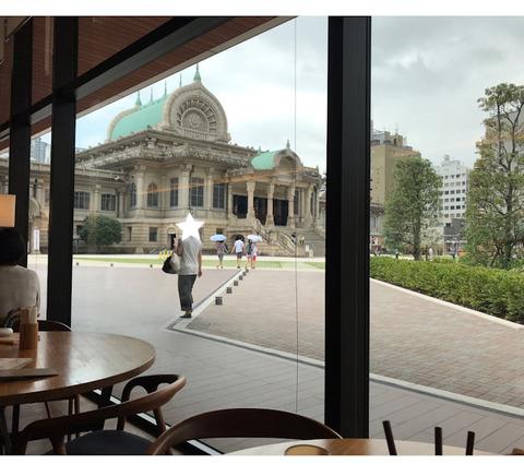 築地本願寺カフェの「18品の朝ごはん」