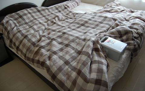 ベッドのマットレス方向転換