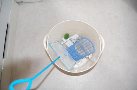 洗濯機の部品