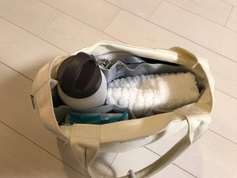 ダイソーのバッグインバッグ