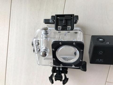 防水機能付きアクションカメラ