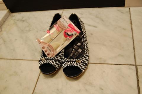 靴ぬげ防止ヒールクッション