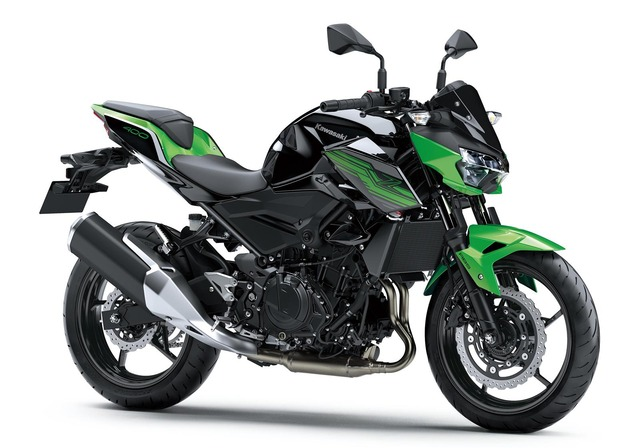 Z400_Candy Lime green Metallic Spark Black