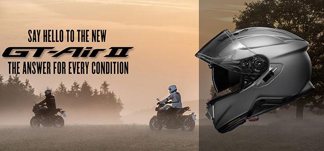 SHOEI フルフェイスヘルメット「GT-AIR II」発表
