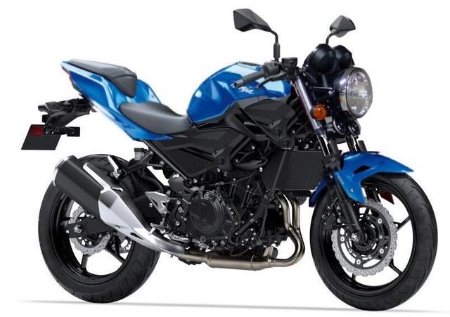 Ninja250とかいうバイクのカウルを外して丸目ライトを付けネイキッド化したコラを作った