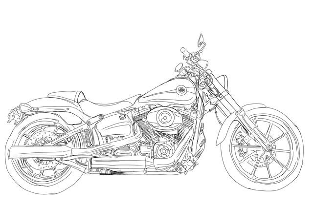 バイクの絵って描くコツとかあんの?