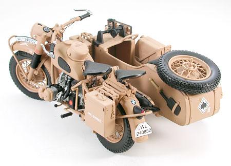 バイクと! 1943年製のドイツ軍のバイク、八戸で修復中 軍用サイドカー「bmw・r75」