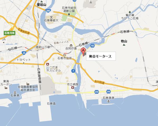 熊谷モータースmap