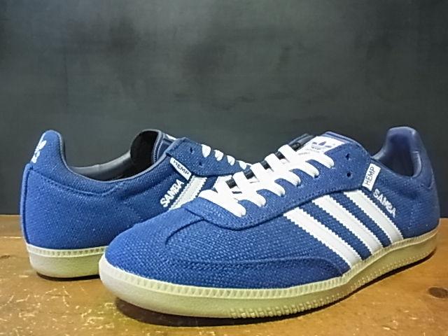 adidas samba hemp blue