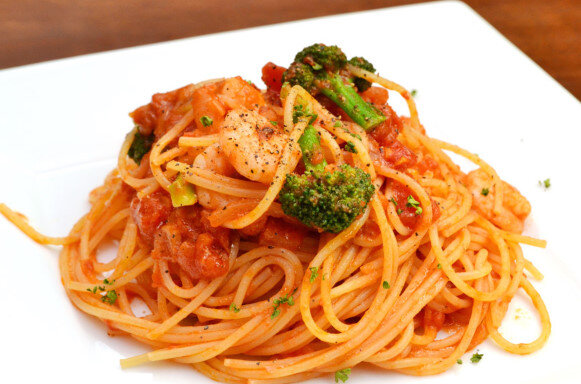 スパゲティナポリタンという不思議な魅力のある食べ物