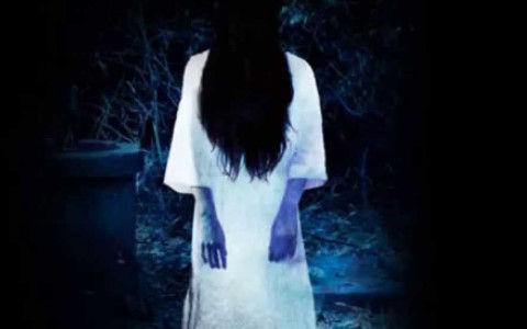 ガングロの若い女幽霊に会ったwwwwww