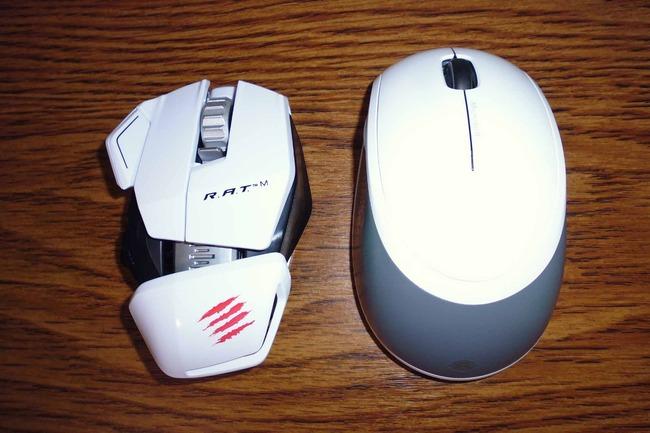 今まで使っていたマイクロソフトワイヤレスマウス5000