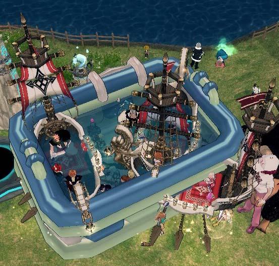 パートナーの小舟