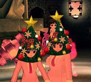 クリスマスツリー帽子