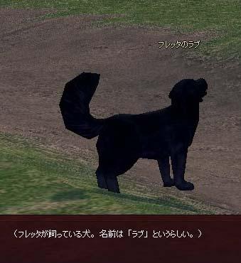 フレッタが飼っている犬。