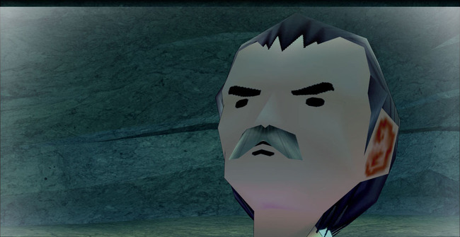バルターの顔