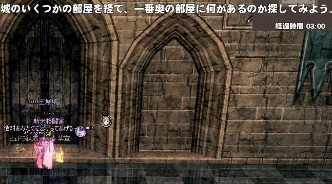 城のいくつかの部屋