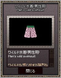 ワイルド水着(男性用)