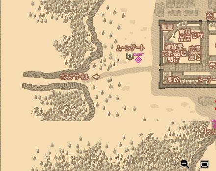 どこかおかしい地図