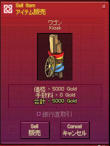 5000ゴールド
