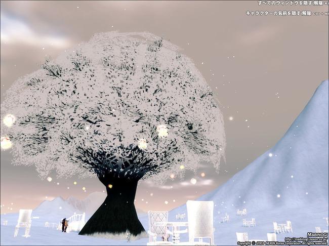 雪花ツリー