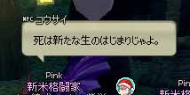 (゚p゚)…    (^o^;)し、死んでる…