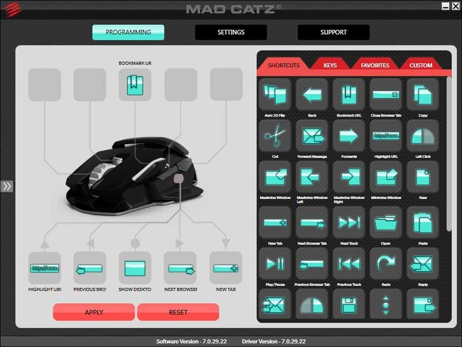 MAD CATZ SOFTWARE