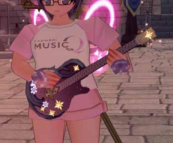 念願のミルキーウェイエレキギター