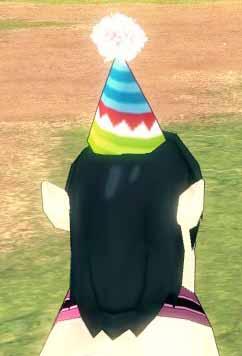 とんがり帽子w