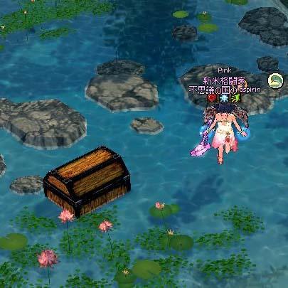 恋咲島の池
