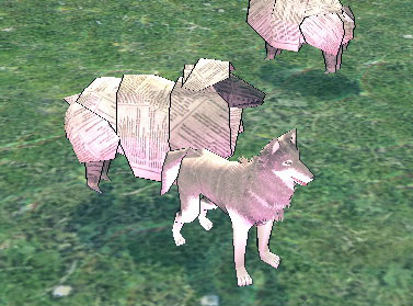紙の羊とオオカミ