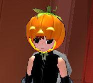 スマイルかぼちゃ帽子