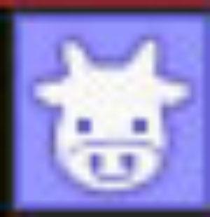 牛のアイコンw