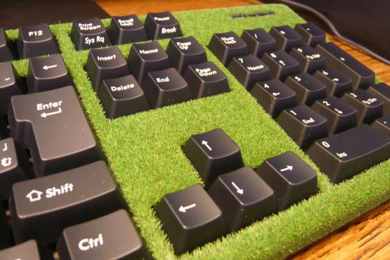 芝生のよう