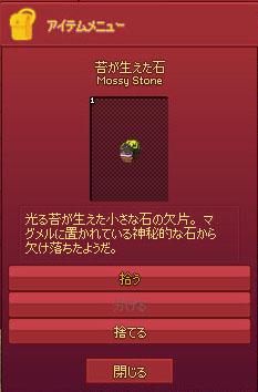 神秘的な石w