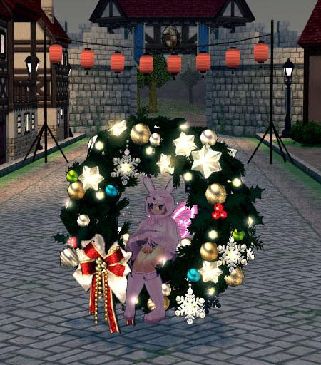 クリスマスの装いがwww