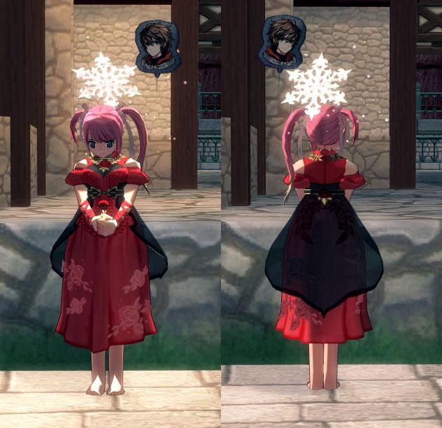 ロマンティックローズドレス(女性用)