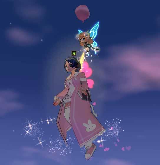 引き上げられる妖精フローラ