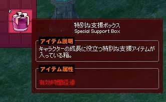 腐った特別な支援ボックス