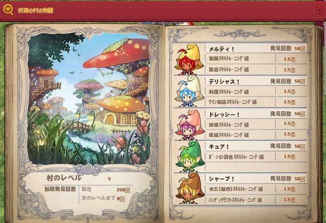 幼虫の村の物語
