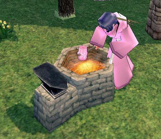 ピンク鍛冶屋の金鎚
