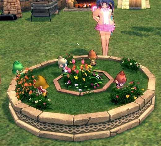 妖精の住む花壇