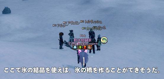 氷の結晶w