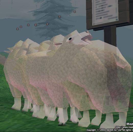 とてつもない羊
