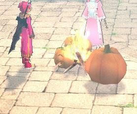 巨大かぼちゃモンスター襲来!イベント