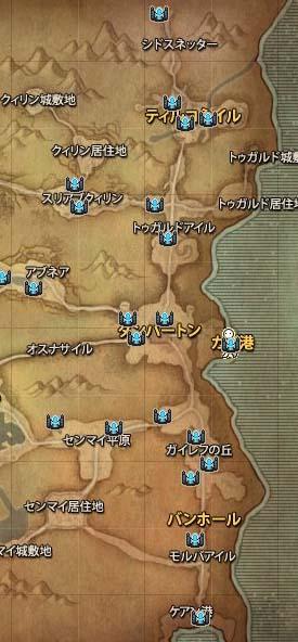 ずれすぎ地図