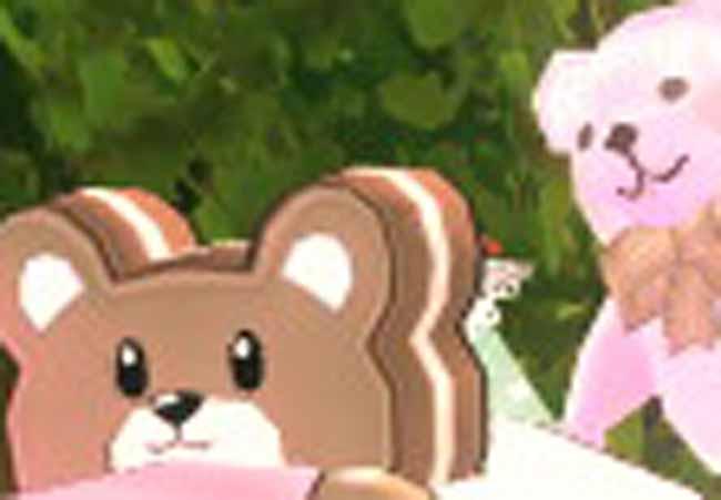 クマの顔ww